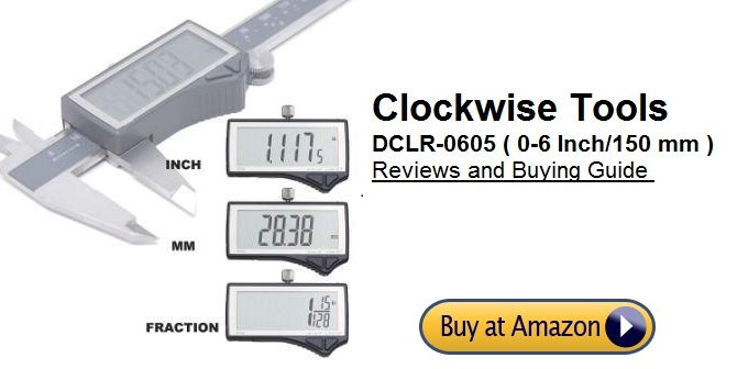 Clockwise Tools DCLR-0605 Digital Caliper